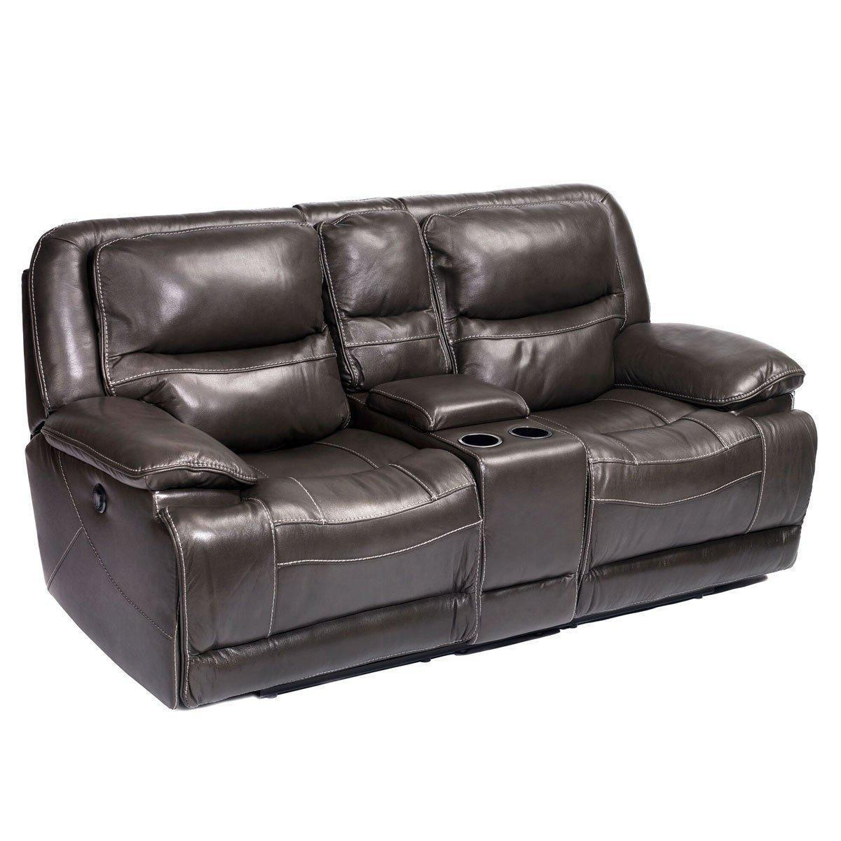 Alden Power Reclining Loveseat with Console
