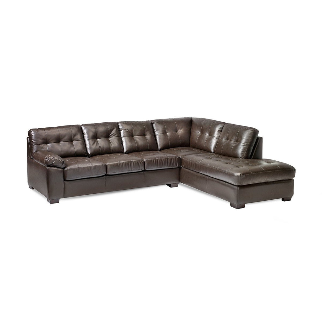 Langley Sleeper Sectional and Ottoman