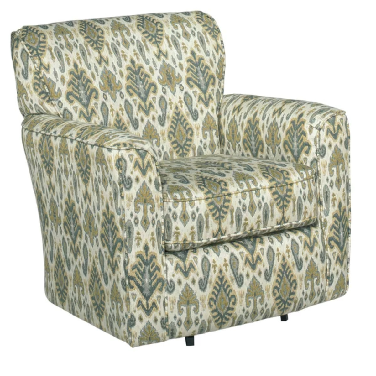 Stacey Sherpa Swivel Armchair