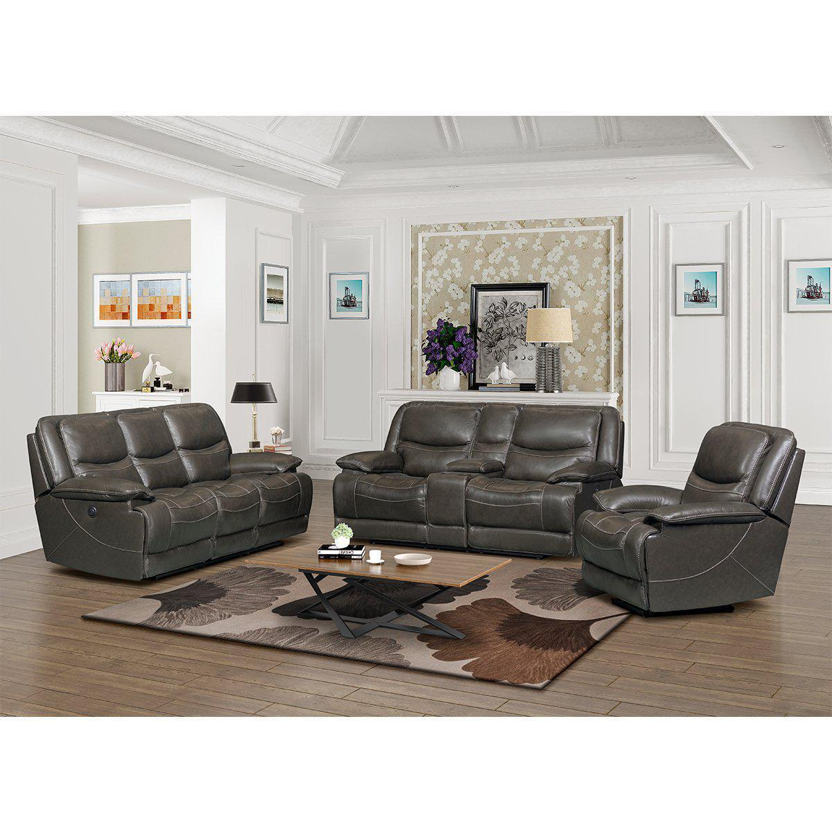 Alden Seatcraft Power Reclining Living Room Set