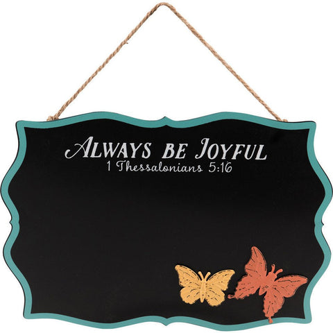 Always Be Joyful Chalkboard