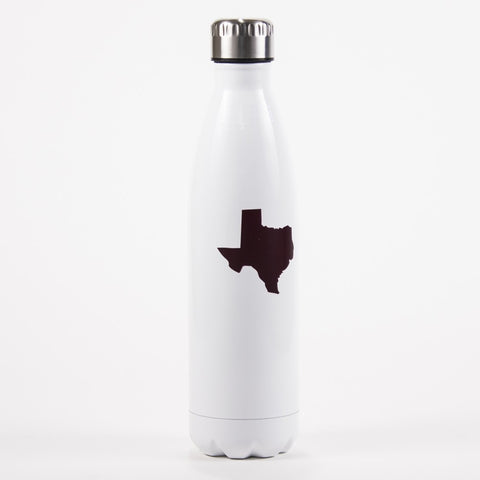 Texas Pride Refresh Bottle in Maroon