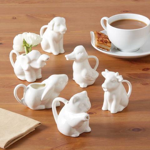 Animal Kingdom Cream Pitchers