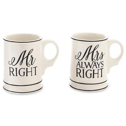 Mr. & Mrs Mug Boxed Set