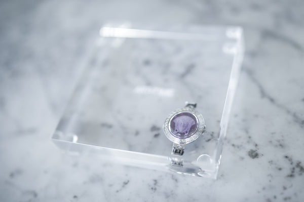 CRYSTAL / Coasters -set 2 [lilac]