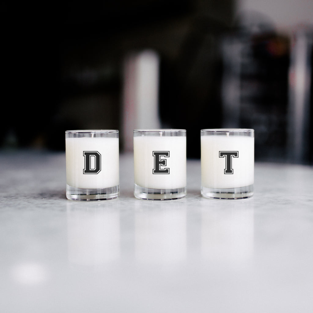 Letterman Candle Trio