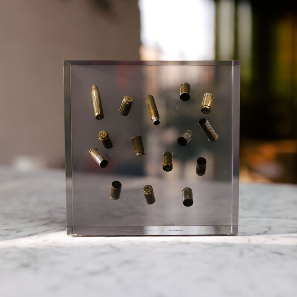 Scattered Bullet Casings