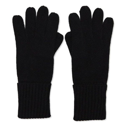 Black Cashmere Gloves Somerville Scarves