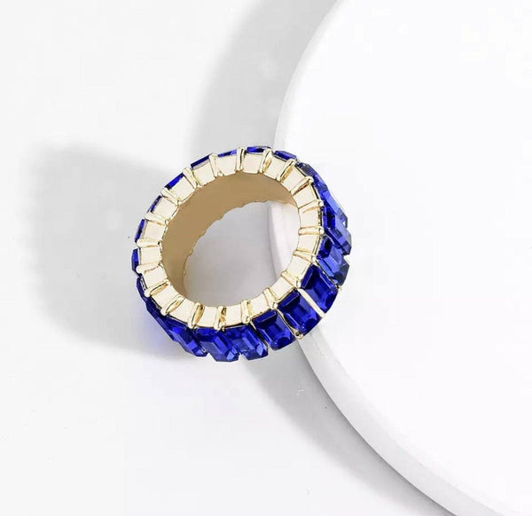 Chunky Electric Blue Ring Ring TLM Edit