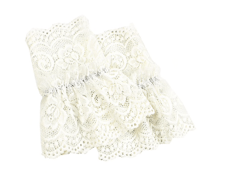 Detachable White Lace Cuffs Collar TLM Edit