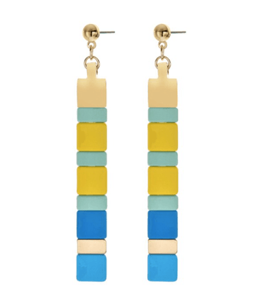 Lego Enamel Drop Earrings TLM Edit