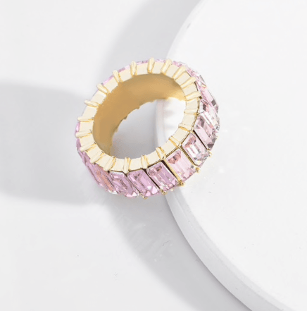 Pale Pink Chunky Ring Ring TLM Edit