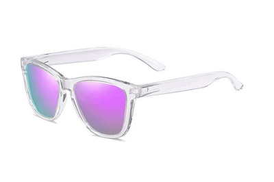 Purple Mirrored Wayfarer Sunglasses Sunglasses TLM Edit