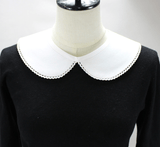 Statement Peter Pan Mock Collar Collar TLM Edit