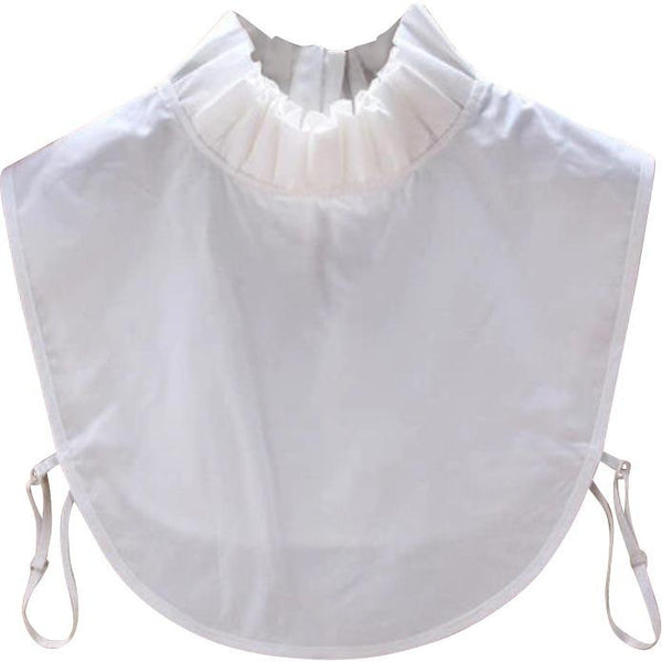 White Ruffle Fake Collar Collars TLM Edit