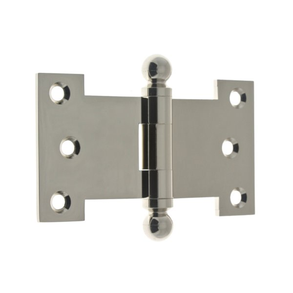 "idh by St. Simons,2 1/2"" x 4 1/2"" Parliament Hinges With Ball Finials - All Pro Hardware"