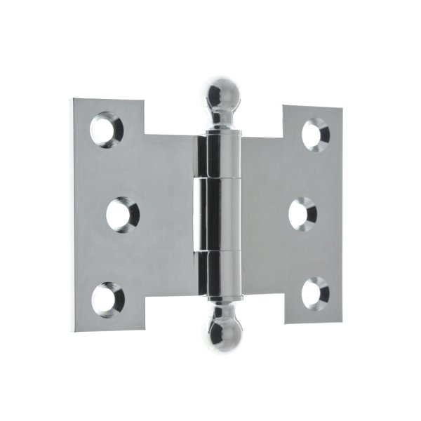 "idh by St. Simons,2 1/2"" x 3 1/2"" Parliament Hinges With Ball Finials - All Pro Hardware"