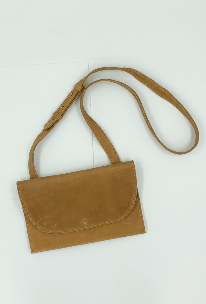 Caramel Small Crossbody