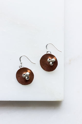 Mixed Metal w/ silver orbs