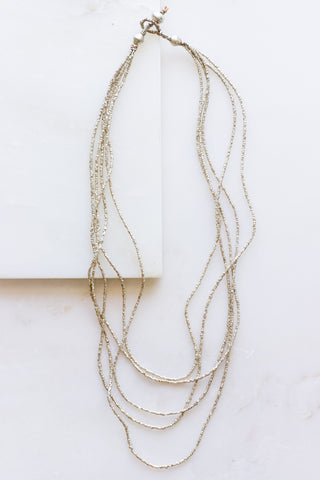 Buzuye Brass Necklace L21""
