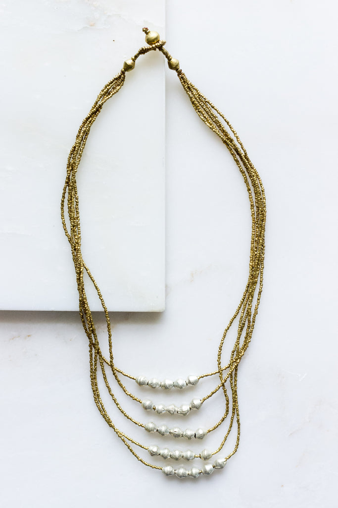 Maji Strand Necklace
