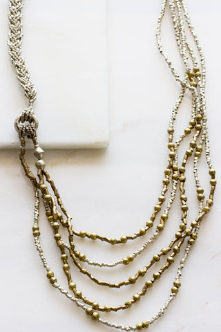 Mendi Fringe Necklace