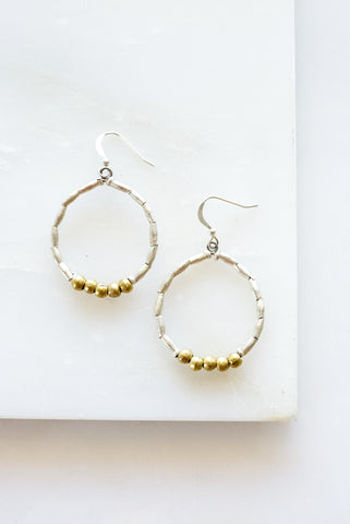Anika Earrings Tapered