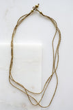 Buzuye Brass Necklace L21