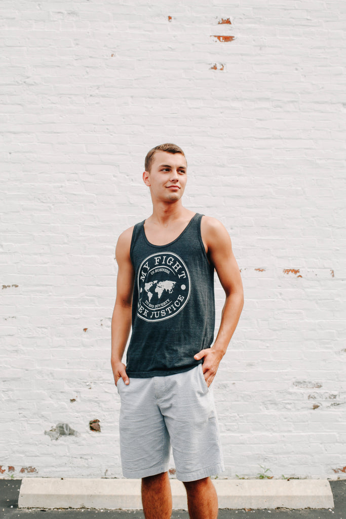 Dark Gray MyFight Tank
