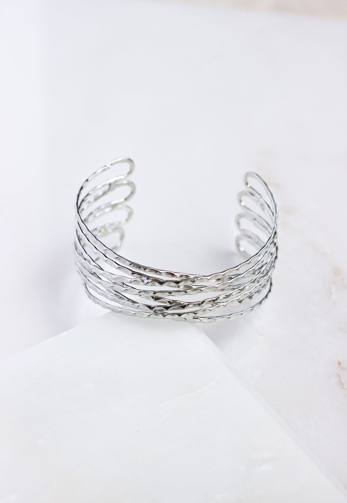 Crosswinds Cuff - Silver