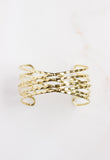 Crosswinds Gold Cuff