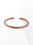 Copper Traditional Cuff