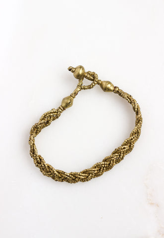 Bati Short Braid (Brass)
