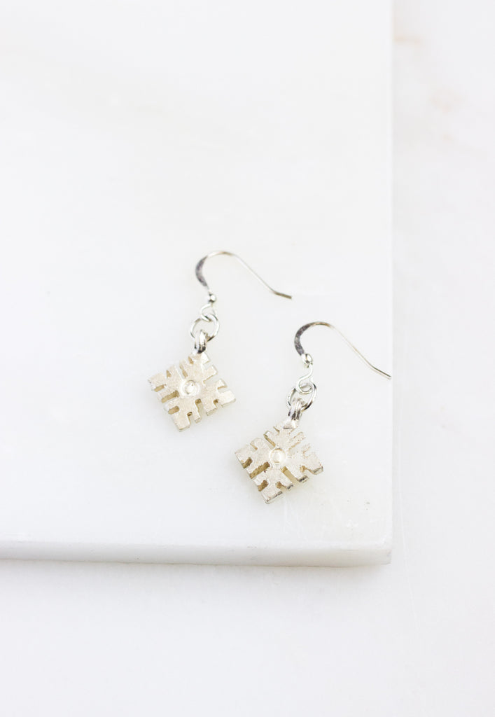 Sululta Silver Earrings