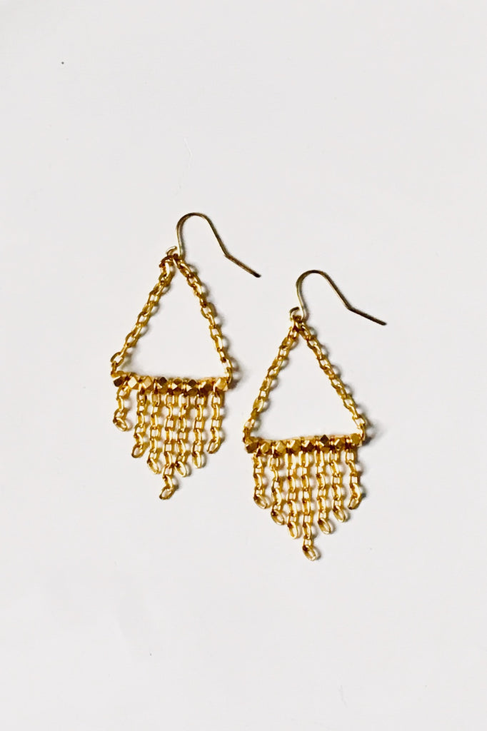 Rita Gold Earrings