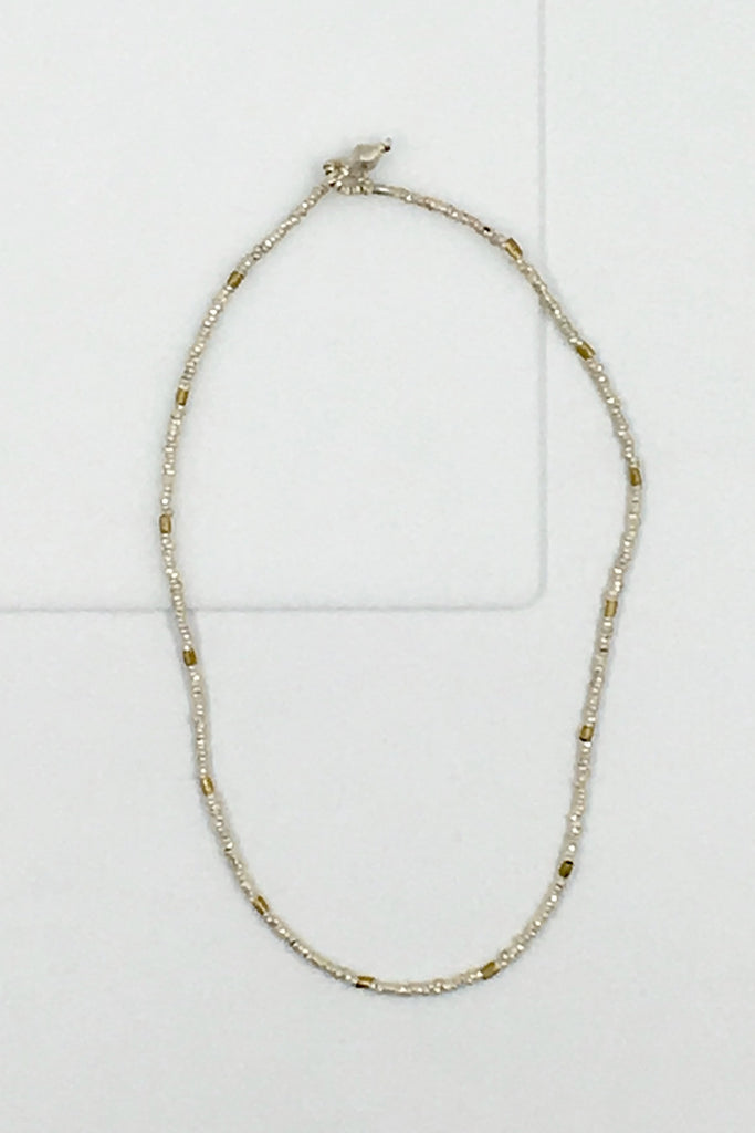 Single Strand Silver Necklace