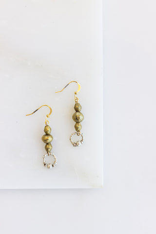 Adet Silver Earrings
