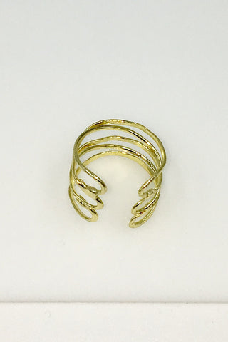 Silver Wind and Water Ring