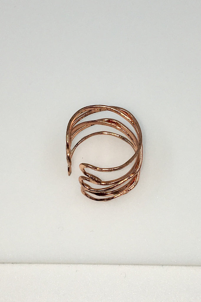 Rose Wind and Water Ring