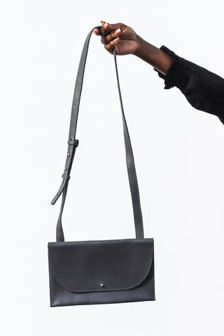 Gray Small Crossbody