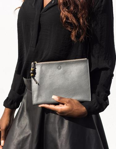Black Slim Clutch