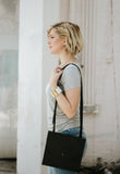 Blue Large Crossbody