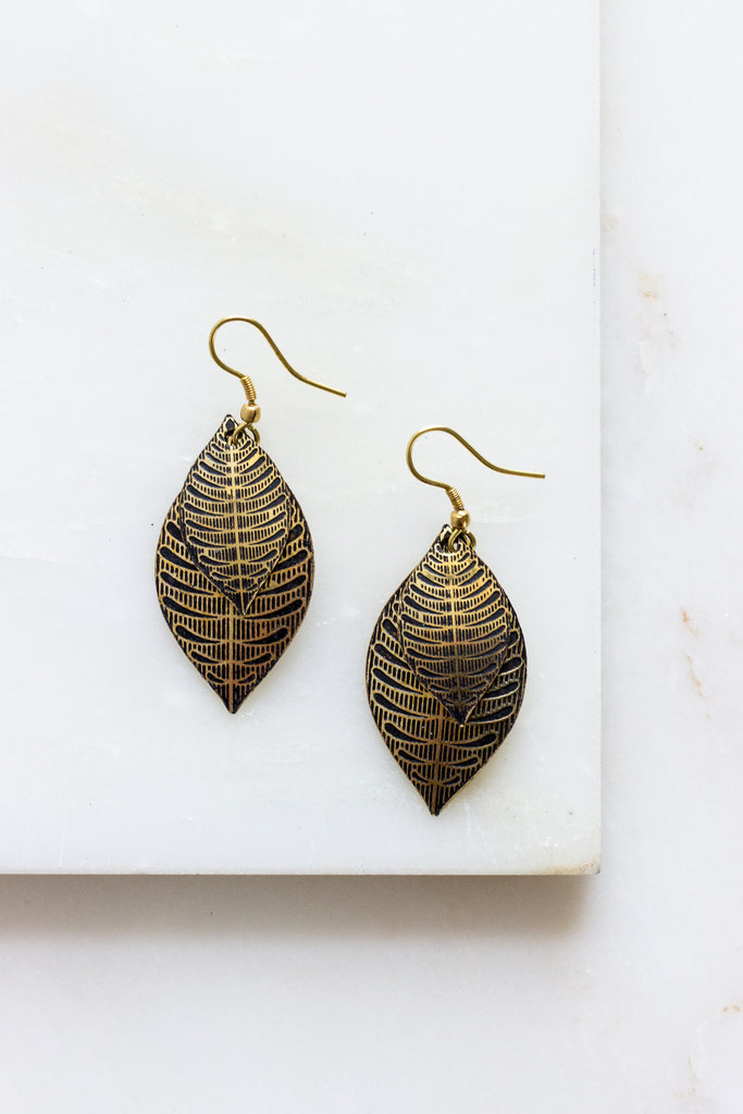 Sanctuary Earrings Gold
