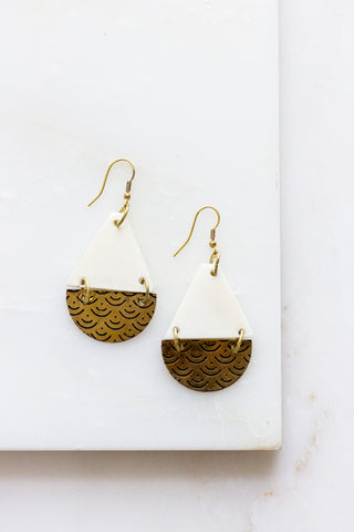 Sanctuary Silver Earrings