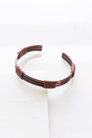Traditional Copper Cuff