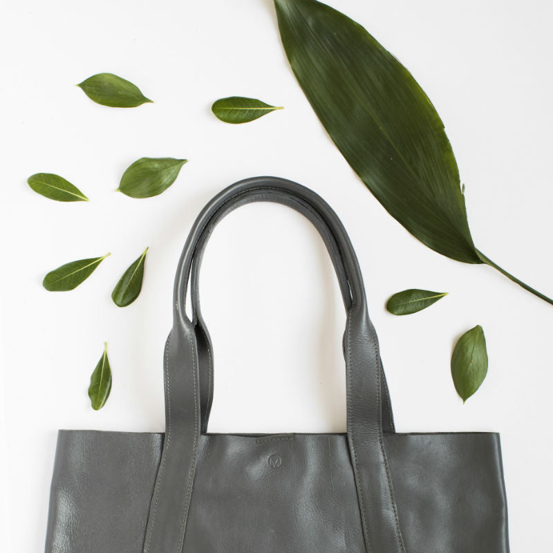 Gray Perfect Tote