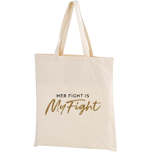 MyFight Canvas Tote