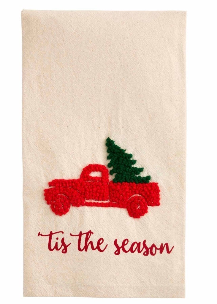 Large Knot Truck Towel
