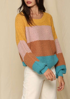 Maeve Stripe Sweater