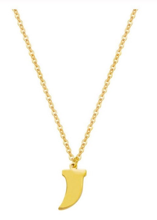 Tusk Charm Necklace